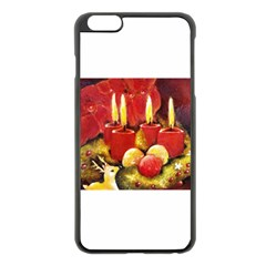Holiday Candles  Apple iPhone 6 Plus Black Enamel Case