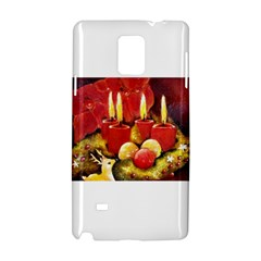 Holiday Candles  Samsung Galaxy Note 4 Hardshell Case