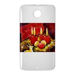 Holiday Candles  Nexus 6 Case (White)