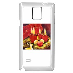 Holiday Candles  Samsung Galaxy Note 4 Case (White)