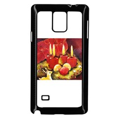 Holiday Candles  Samsung Galaxy Note 4 Case (Black)