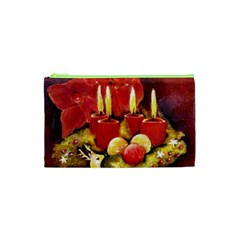 Holiday Candles  Cosmetic Bag (XS)