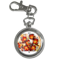 Fall Flowers Key Chain Watches