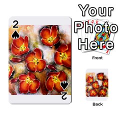 Fall Flowers Playing Cards 54 Designs