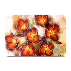 Fall Flowers Plate Mats