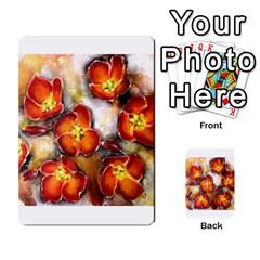 Fall Flowers Multi Purpose Cards (rectangle)
