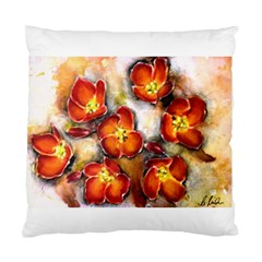 Fall Flowers Standard Cushion Cases (two Sides)