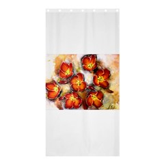 Fall Flowers Shower Curtain 36  x 72  (Stall)