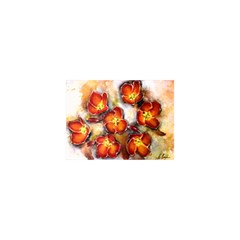 Fall Flowers Shower Curtain 48  X 72  (small)