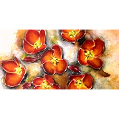 Fall Flowers You Are Invited 3d Greeting Card (8x4)