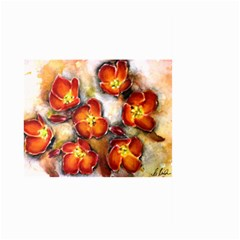Fall Flowers Large Garden Flag (Two Sides)