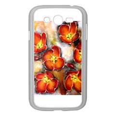 Fall Flowers Samsung Galaxy Grand Duos I9082 Case (white)