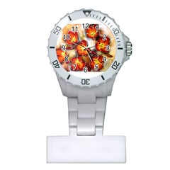 Fall Flowers Nurses Watches