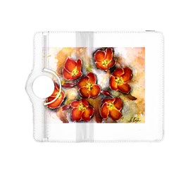 Fall Flowers Kindle Fire Hdx 8 9  Flip 360 Case