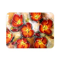 Fall Flowers Double Sided Flano Blanket (mini)