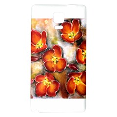 Fall Flowers Galaxy Note 4 Back Case