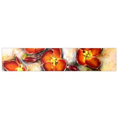 Fall Flowers Flano Scarf (small)