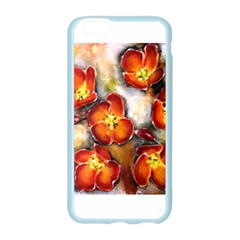 Fall Flowers Apple Seamless iPhone 6 Case (Color)
