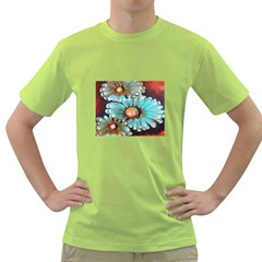 Fall Flowers No. 2 Green T-Shirt
