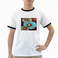 Fall Flowers No. 2 Ringer T-Shirts