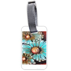 Fall Flowers No  2 Luggage Tags (one Side)