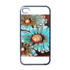 Fall Flowers No  2 Apple Iphone 4 Case (black)