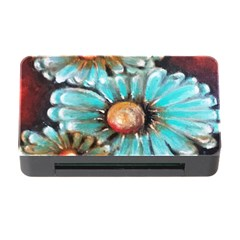 Fall Flowers No. 2 Memory Card Reader with CF