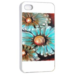 Fall Flowers No. 2 Apple iPhone 4/4s Seamless Case (White)