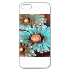 Fall Flowers No  2 Apple Seamless Iphone 5 Case (clear)