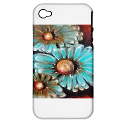 Fall Flowers No  2 Apple Iphone 4/4s Hardshell Case (pc+silicone)