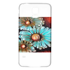 Fall Flowers No  2 Samsung Galaxy S5 Back Case (white)