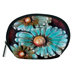 Fall Flowers No  2 Accessory Pouches (medium)