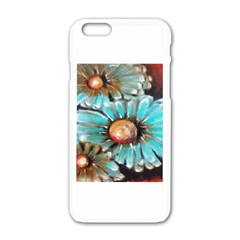 Fall Flowers No. 2 Apple iPhone 6 White Enamel Case