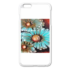 Fall Flowers No. 2 Apple iPhone 6 Plus Enamel White Case
