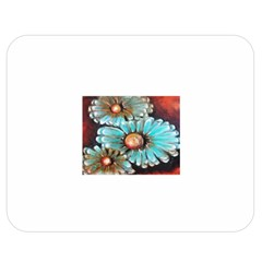 Fall Flowers No. 2 Double Sided Flano Blanket (Medium)