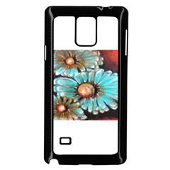 Fall Flowers No. 2 Samsung Galaxy Note 4 Case (Black)