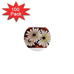 Fall Flowers No  3 1  Mini Magnets (100 Pack)