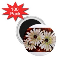 Fall Flowers No  3 1 75  Magnets (100 Pack)