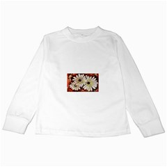 Fall Flowers No  3 Kids Long Sleeve T Shirts