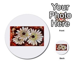 Fall Flowers No  3 Multi Purpose Cards (round)
