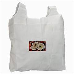 Fall Flowers No  3 Recycle Bag (one Side)