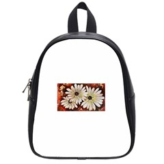 Fall Flowers No  3 School Bags (small)