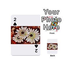 Fall Flowers No. 3 Playing Cards 54 (Mini)