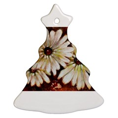 Fall Flowers No. 3 Christmas Tree Ornament (2 Sides)