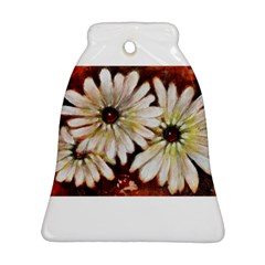 Fall Flowers No. 3 Bell Ornament (2 Sides)