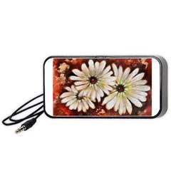 Fall Flowers No. 3 Portable Speaker (Black)