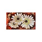 Fall Flowers No. 3 BEST SIS 3D Greeting Card (8x4)  Back