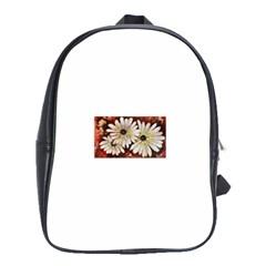 Fall Flowers No  3 School Bags (xl)