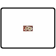 Fall Flowers No. 3 Double Sided Fleece Blanket (Large)