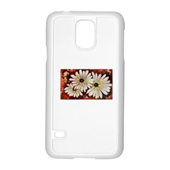 Fall Flowers No  3 Samsung Galaxy S5 Case (white)